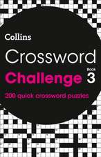 Crossword Challenge Book 3