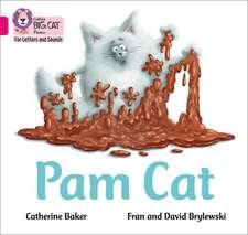 Pam Cat in the Mud