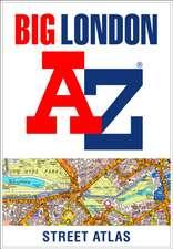 -Z Big London Street Atlas
