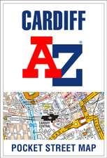 -Z Cardiff Pocket Street Map