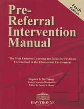 Pre-Referral Intervention Manual [With CD (Audio)]