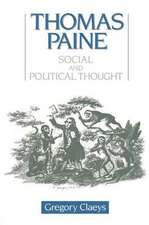 Thomas Paine:  Social and Political Thought