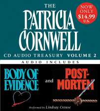 Patricia Cornwell CD Audio Treasury Volume Two Low Price: Includes Body of Evidence and Post Mortem