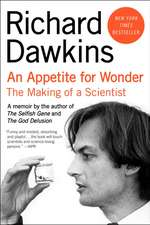 Appetite for Wonder, An: The Making of a Scientist