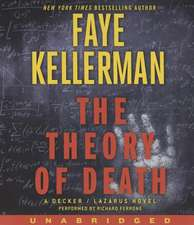 The Theory of Death CD: A Decker/Lazarus Novel