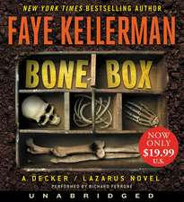 Bone Box Low Price CD: A Decker/Lazarus Novel