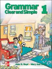 GRAMMAR CLEAR AND SIMPLE STUDENT BOOK 1