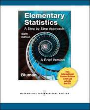 Elementary Statistics: A Brief Version with CD and formula card