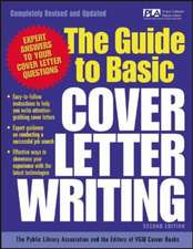 The Guide to Basic Cover Letter Writing