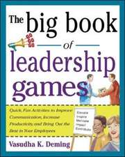 The Big Book of Leadership Games