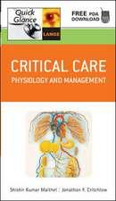 Critical Care Quick Glance