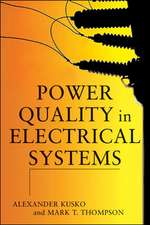Power Quality in Electrical Systems