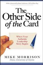 The Other Side of the Card: Where Your Authentic Leadership Story Begins