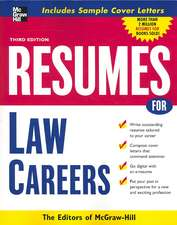 Resumes for Law Careers