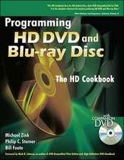 Programming HD DVD and Blu-ray Disc