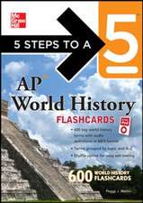 5 Steps to a 5 AP World History Flashcards for your iPod with MP3 Disk