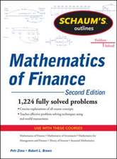 Schaum's Outline of  Mathematics of Finance, Second Edition