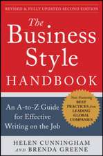 The Business Style Handbook, Second Edition:  An A-to-Z Guide for Effective Writing on the Job