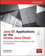 Java EE Applications on Oracle Java Cloud: