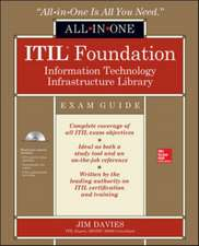 ITIL Foundation All-in-One Exam Guide