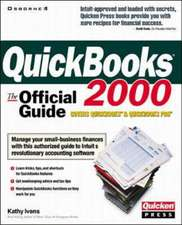 QuickBooks 2000:  The Official Guide