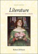 Literature:  Approaches to Fiction, Poetry, and Drama
