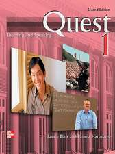 Quest Level 1 Listening and Speaking Student Book with Audio Highlights