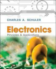 Electronics Principles and Applications with Student Data CD-Rom