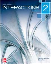 Interactions Level 2 Reading Student Book