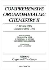 Comprehensive Organometallic Chemistry II, Volume 3: Copper and Zinc Groups