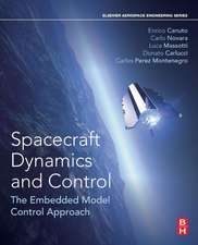 Spacecraft Dynamics and Control: The Embedded Model Control Approach