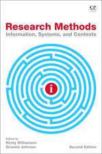 Research Methods: Information, Systems, and Contexts