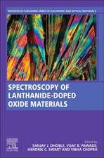 Spectroscopy of Lanthanide Doped Oxide Materials