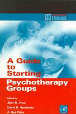 A Guide to Starting Psychotherapy Groups
