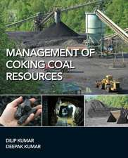 Management of Coking Coal Resources