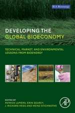 Developing the Global Bioeconomy: Technical, Market, and Environmental Lessons from Bioenergy