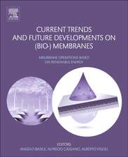 Current Trends and Future Developments on (Bio-) Membranes: Renewable Energy Integrated with Membrane Operations