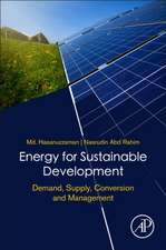 Energy for Sustainable Development