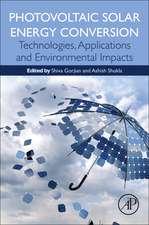 Photovoltaic Solar Energy Conversion