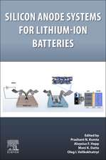 Silicon Anode Systems for Lithium-Ion Batteries