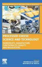 Processed Cheese Science and Technology
