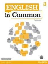 English in Common 3 Workbook