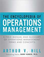 The Encyclopedia of Operations Management