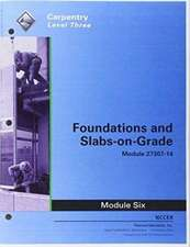 27307-14 Foundations and Slab-on-Grade Trainee Guide