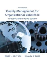 Organizational Excellence:  Introduction to Total Quality