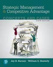 Strategic Management and Competitive Advantage