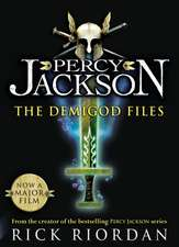 The Demigod Files: Percy Jackson and the Olympians companion book