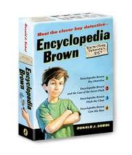 Encyclopedia Brown 4 Volume Boxed Set