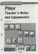 Wellington Square Plays Teachers Notes and Copymasters Levels 2 to 5
