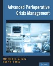 Advanced Perioperative Crisis Management